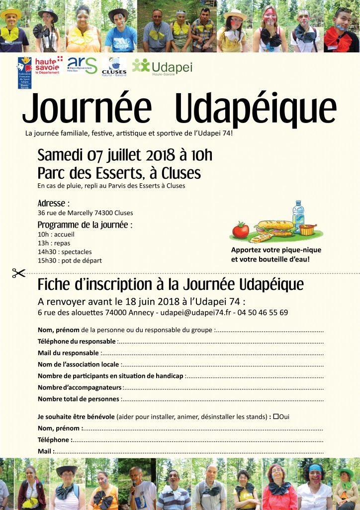 Inscriptions JU 2018